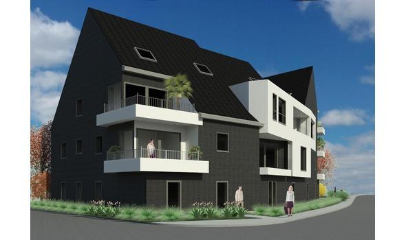3D-visualisatie woningcomplex