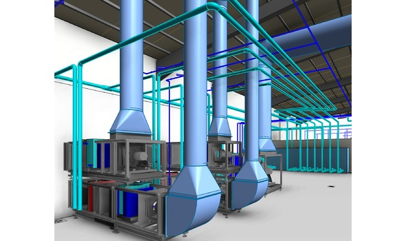 Technische ruimte HVAC
